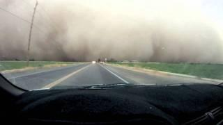 Driving into a Dust Storm