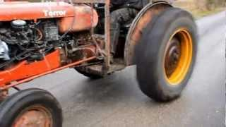 Swedish farmer puts a turbo engine into his tractor