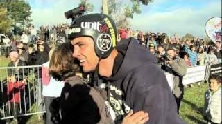 World First BMX Triple Backflip by Jed Mildon