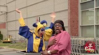 Parking Gate Clown - Crazy Prank