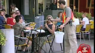 Garbage collector - funny prank