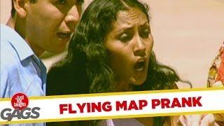 Flying map - funny joke