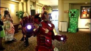 "Impressive ""Iron Man"" Costume"