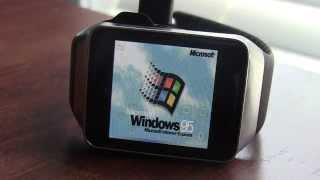 """Windows 95"" on Android Wear"