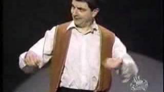 Rowan Atkinson - Invisible Drum Kit
