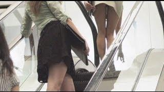 Zoochosis Presents: Escalator. Why Men Should Always Carry Chocolate!