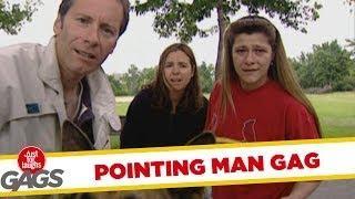 Pointing Man - funny joke