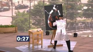Speed Painter Takes Stage in Anderson's Viewers Got Talent