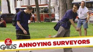 Annoying Surveyors - Hidden Camera Prank