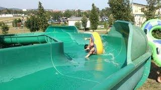 Deadliest Turn on a Water Slide