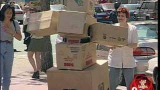 Box monster - Hidden Camera joke