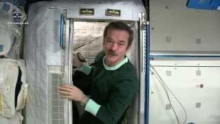 Sleeping in Space - Chris Hadfield