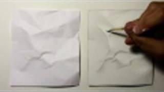 Realism Challenge #1: Crumpled Paper