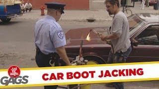 Car boot jacking