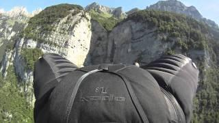 Jeb Corliss Wingsuit Flying - Grinding The Crack