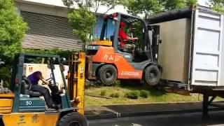 Forklift masters in Taiwan