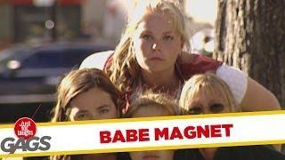 Babe Magnet - sexy prank