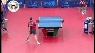 Quentin Robinot-Kiryl Barabanov, table tennis trick-shot 2013