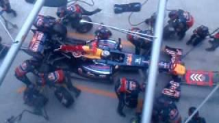 Formula 1: Four Seconds Pit Stop by Sebastian Vettel