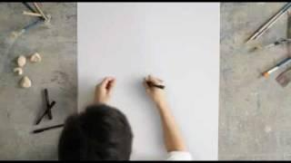 Never lift the pen - Faber Castell Commercial