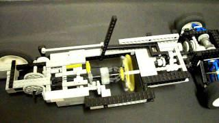 Automatic Lego Transmission using a Fly-Wheel
