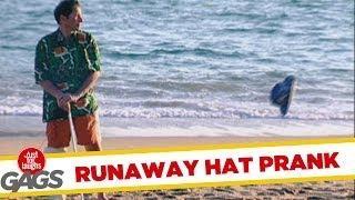 Runaway Hat - funny prank