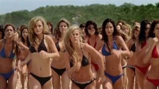 Swarm of sexy girls on the beach - Specsavers Advert