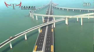 China's Jiaozhou Bay bridge - World's Longest Over-Water Bridge