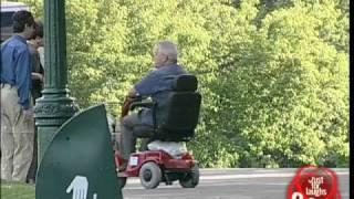 Remote Out Of Control Wheelchair - Crazy Prank