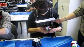 Rubik's Cube blindfolded World Record