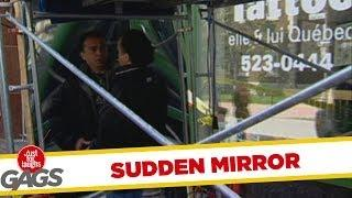 Sudden Mirror - crazy prank