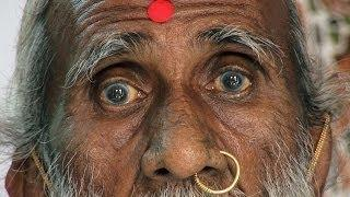 Prahlad Jani, Yogi who claims he hasn't eaten or drunk and fluids, for the last 70 years
