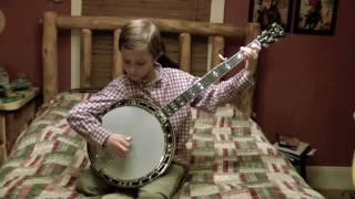 8 Year Old Banjo Player