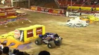 Incredible Monster Truck Backflip