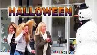 Scary Snowman - Halloween Special Prank 2013