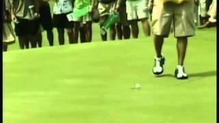 100 foot golf putt by Jack Nicklaus