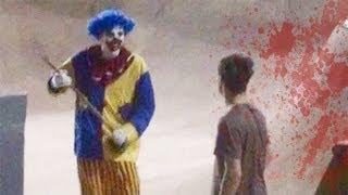 Clown Murderer - Scary Prank