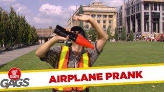 Invisible Aircraft - Funny Prank