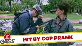 Hit By Cop - Funny Prank