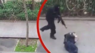Weird Footage Prompts Claims of Charlie Hebdo Conspiracy