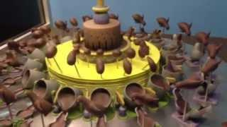 Spinning Chocolate