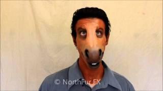 Donkey Muzzle Prosthetic Mask // Foam Latex Large Horse