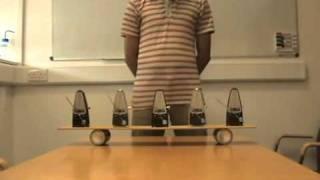 How to Synchronize Metronomes
