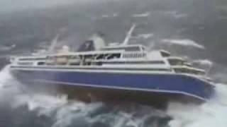 Cruiser Roll Motions - Extreme Rough Sea