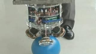 Advanced robot balancing on a ball