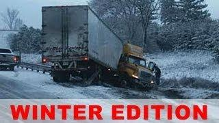 Crazy Truck Accidents // 2014 Winter Compilation