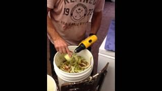 Man Peels Six Apples In Under A Minute
