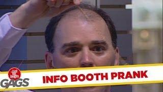Hypnotized Information Booth Attendant