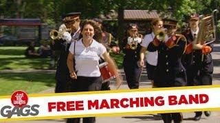 Marching Band - funny prank
