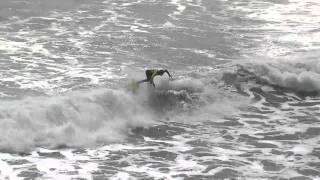 Surfing Kickflip Winner for Volcom Contest